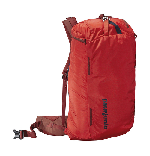 """Courtesy Photo  Cragsmith pack from Patagonia: Three news packs for Spring 2015 from Patagonia's Alpine collection were """"built by climbers for climbers"""". The Cragsmith Pack 35L is the middle choice of the three. The design makes are easy access in tricky situations through the top or back. The pack also opens wide without the need to remove or dump everything out to find what you need. The Cragsmith will run $129. www.patagonia.com/us/home."""