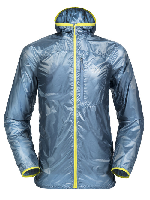 Courtesy Photo  Ghost Lite jacket from Mountain Hardwear: Created for runners and cross trainers or times when the temperature cools just enough that a T-shirt wonít do, the Ghost Lite weather resistant shell provides a lightweight option for staying comfortable. The jacket weighs in at 3 ounces and will be available in menís and womenís models for $100 in spring 2015. www.mountainhardwear.com