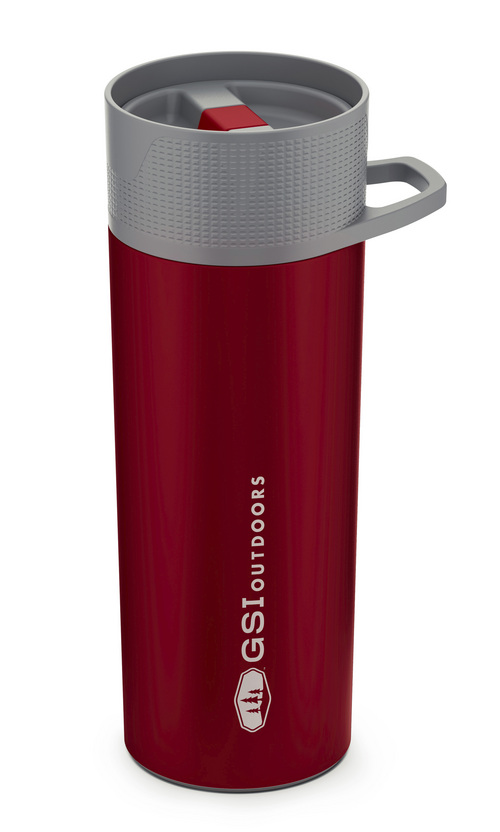Courtesy Photo  Glacier Commuter Press from GSI Outdoors: This 14-ounce press/coffee mug is made of high-grade 18/8 stainless steel and features double wall vacuum insulation to keep beverage temperatures where you want them. The design of the Glacier allows the user to slide an inner carafe to brew coffee or tea rather than the need to use a plunger. Comes in blue, green, red, orange and stainless for $32.95.
