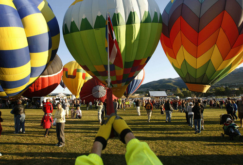 Tribune file photo After a four-year hiatus, the Ogden Valley Balloon Festival (pictured here in 2008) is back starting Aug. 15.