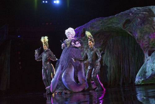 Courtesy photo Tuacahnís ìThe Little Mermaidî is a family-friendly, special-effects filled spectacle that plays through Oct. 17 under the stars in Ivins.