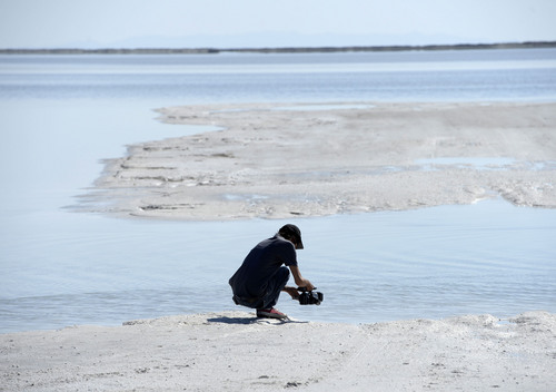 Water on Utah's famous salt flats cancels Speed Week - The Salt Lake ...