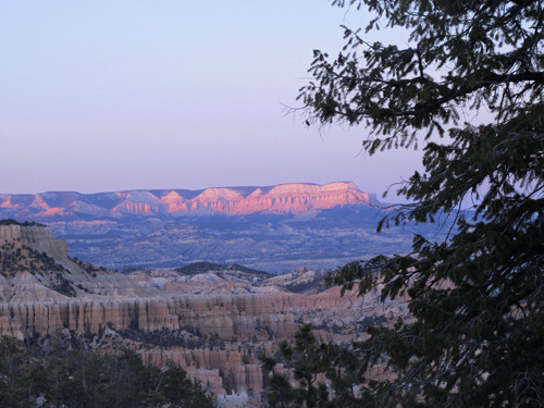 Brett Prettyman | The Salt Lake Tribune  A view from the site of Friday's Utah Symphony Mighty 5 performance near Bryce Canyon National Park.