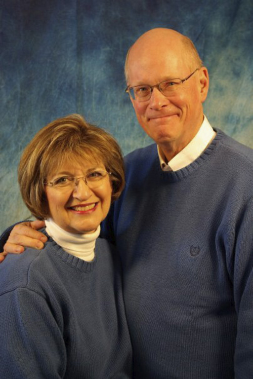 | Courtesy the Harding family  Jan Harding, left, and her husband Jim Harding. Jan Harding remains in critical condition after accidentally drinking tea poisoned with lye at a South Jordan Dickie's BBQ.