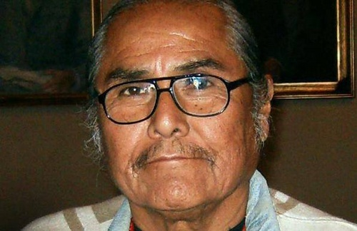 """This undated photo provided by Duane """"Chili"""" Yazzie shows Yazzie, one of 17 candidates in the Tuesday, Aug. 26, 2014 primary election for Navajo Nation president. (AP Photo/Courtesy of Duane """"Chili"""" Yazzie)"""
