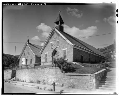 Photo courtesy Library of Congress  This photo by P. Kent Fairbanks shows the St. Mary of the Assumption School in Park City in July 1967.