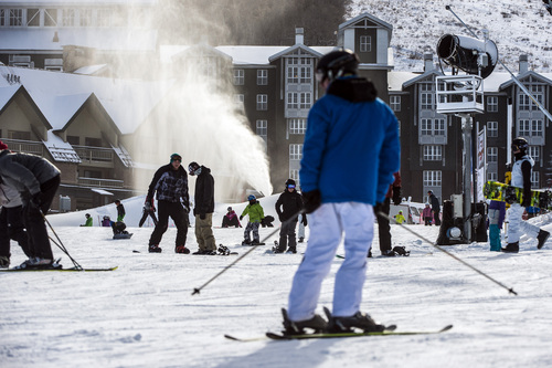 Chris Detrick  |  Tribune file photo Skiers and snowboarders at Park City Mountain Resort on November 23, 2013.