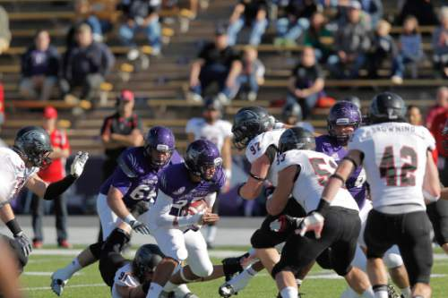 |  Courtesy Weber State Athletics  Action from the 2013 Weber State vs. Southern Utah University football game.
