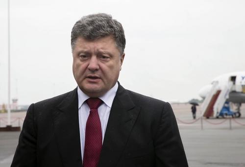 Petro Poroshenko • Ukrainian president