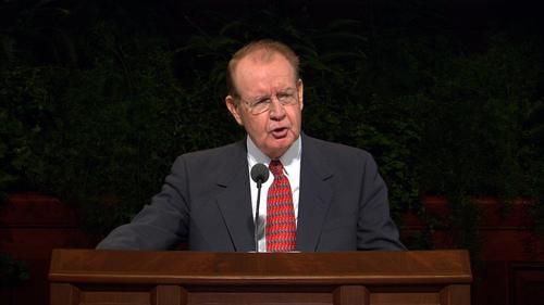 David E. Sorensen. Courtesy     LDS Church