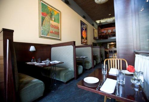 Courtesy photo The walls at Martine before a recent remodel exposed the historic brick.