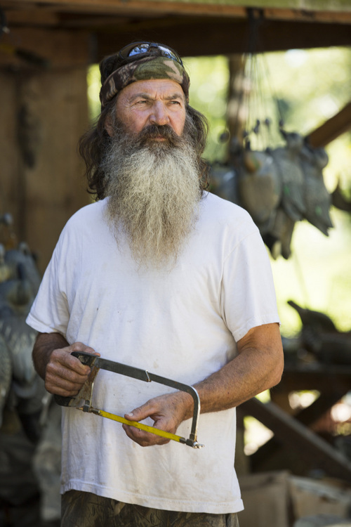 """This undated image released by A&E shows Phil Robertson from the popular series """"Duck Dynasty."""" (AP Photo/A&E, Zach Dilgard)"""