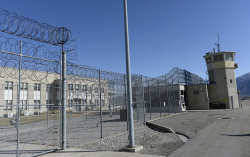Al Hartmann     The Salt Lake Tribune  In this March 9, 2014, photo, control doors and tower at the Wasatch unit sit at the Utah State Prison in Draper. The Wasatch blocks are the oldest parts of the prison, built in the early 1950s.