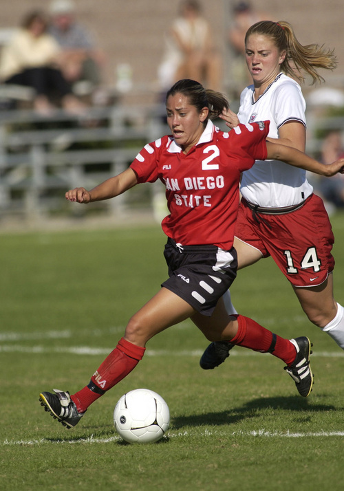 (Courtesy Mountain West Conference)  San Diego State's Kim Castellanos