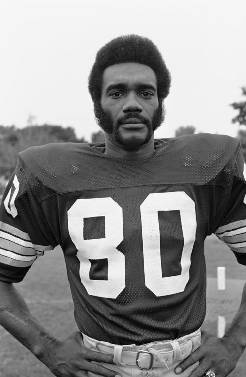 Roy Jefferson of the NFL's Washington team is shown July 22, 1973. (AP Photo/Paul Vathis)