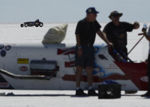 Scott Sommerdorf   |  The Salt Lake Tribune at the Utah Salt Flats Racing Association World of Speed, Sunday, September 7, 2014.