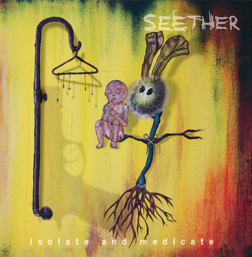 "Cover of ""Isolate and Medicate"" by Seether. Courtesy Seether"