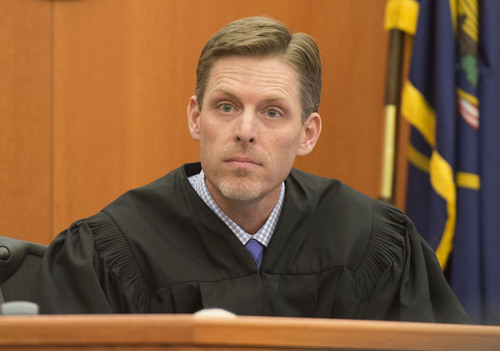 Steve Griffin     The Salt Lake Tribune   3rd District Judge Ryan Harris sets a bond for 17.5 million dollars that if accepted by Park City Mountain Resort would allow them to run the ski operations there for the upcoming winter season. The amount was disclosed during a hearing at the Summit County Justice Center in Park City, Friday, September 5, 2014.