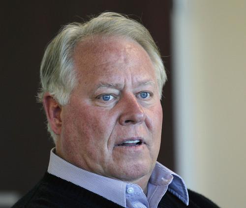 Al Hartmann     The Salt Lake Tribune Utah real estate mogul Dell Loy Hansen took over majority control of Real Salt Lake.