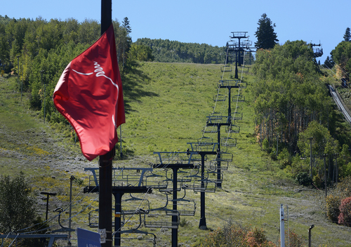 Scott Sommerdorf   |  The Salt Lake Tribune Ski lifts at Park City Mountain Resort, Thursday, Sept. 11, 2014, the day Vail purchased PCMR for $182.5 million