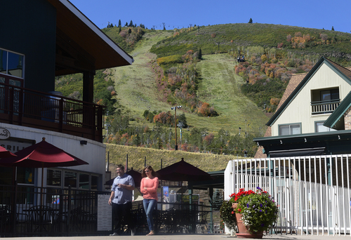 Scott Sommerdorf   |  The Salt Lake Tribune at Park City Mountain Resort, Thursday, Sept. 11, 2014, the day Vail purchased PCMR for $182.5 million