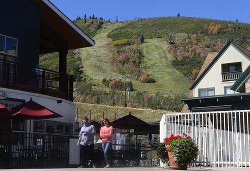 Scott Sommerdorf   |  The Salt Lake Tribune at Park City Mountain Resort, Thursday, Sept. 11, 2014, the day Vail purchased PCMR for $182.5 million