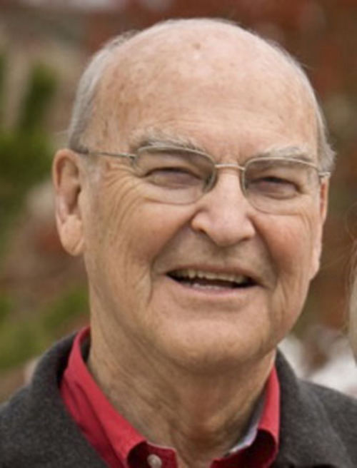 Chase N. Peterson, former president of the University of Utah, died September 14, 2014. Peterson was 84.  Courtesy photo