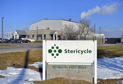 Keith Johnson | The Salt Lake Tribune A new Utah Department of Health report examines the potential health impacts of the Stericycle medical-waste incinerator in North Salt Lake. While rates of some cancers are elevated in nearby residents, those patterns cannot be tied to any specific environmental exposure, the department said.