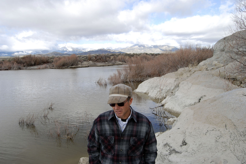Brian Maffly | The Salt Lake Tribune  Snake Valley spring water feeds Pruess Lake, a large century-old pond near Garrison, Utah. Dave Baker's family depends on this water to run their ranch, but proposed groundwater pumping could disrupt the region's hydrology and stanch these springs' outflow.