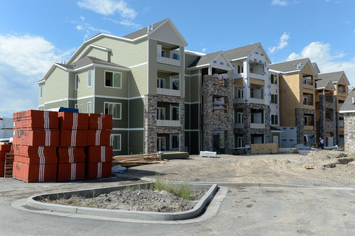 Francisco Kjolseth     The Salt Lake Tribune Work began this summer on three high-density housing clusters in the @geneva development, a 1,700 acre master-planned  project being built on the site of the old Geneva Steel Mill, at Vineyard in Utah County. Plans for @geneva call for housing for upwards of 27,000 new residents as well as a major satellite campus for Orem-based Utah Valley University.