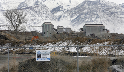 Al Hartmann | Tribune file photo The Geneva Steel Mill site in Vineyard, Utah County, in 2007, as it was being cleaned up for future development.