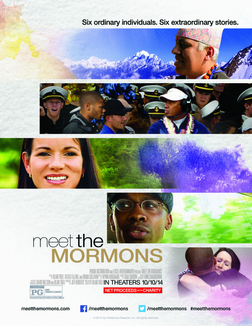 "(Courtesy Intellectual Reserve, Inc.) ""Meet the Mormons"" movie poster."