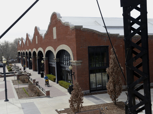 Al Hartmann  |  The Salt Lake Tribune Shops on the south east side of Trolley Square.  Khosrow Semnani has purchased Trolley Square and has plans to revamp it, but has had parts of his design rejected by the city.