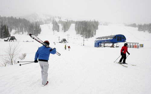 Tribune file  Solitude Mountain Resort, pictured, is being purchased by Deer Valley Resort.