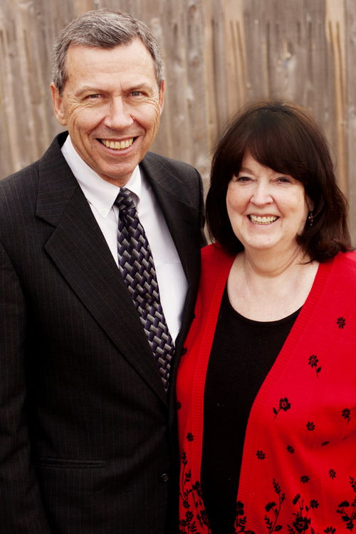 (Courtesy photo)  Norman and Raelene Hill, LDS mission president couple in Accra Ghana West Mission.