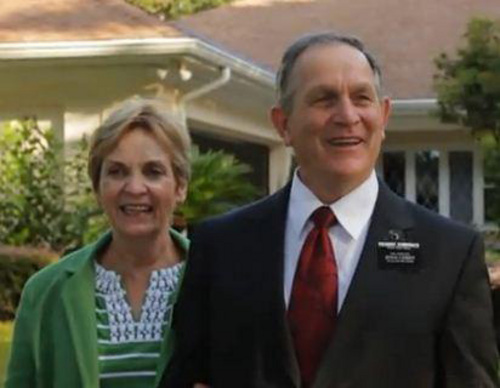 (Courtesy Intellectual Reserve)  Bruce Summerhays and his wife, Carolyn, are serving a three-year mission in Tampa, Florida.
