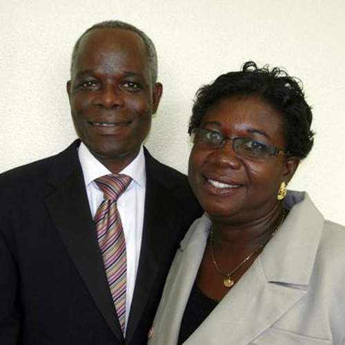 (Courtesy Intellectual Reserve)  John and Augustina Buah, of Accra, Ghana, part of 114 new couples assigned to lead missions throughout the worldJohn and Augustina Buah, of Accra, Ghana, part of 114 new couples assigned to lead missions throughout the world.