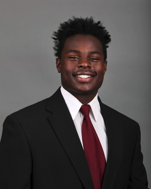Godfrey_Andre, Utah Football August 6, 2014 in Salt Lake City, UT. (Photo / Steve C. Wilson / University of Utah)