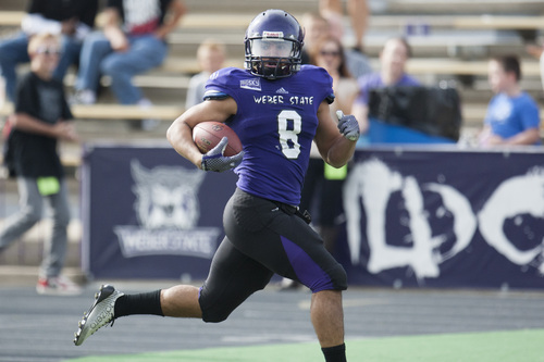 Weber State Football No 9 Montana State Awaits Winless Weber State