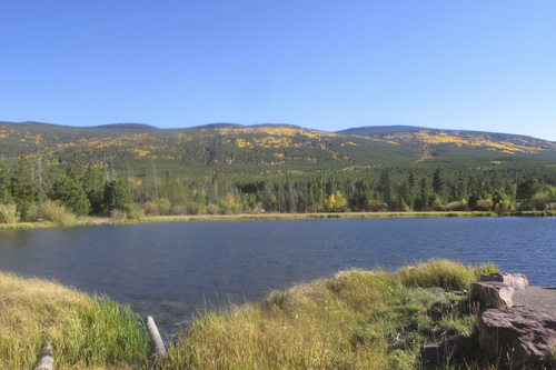 Brett Prettyman  |  Tribune file photo  Moose Ponds along the Flaming Gorge-Uintas National Scenic Byway is a popular family fishing spot in a scenic setting.