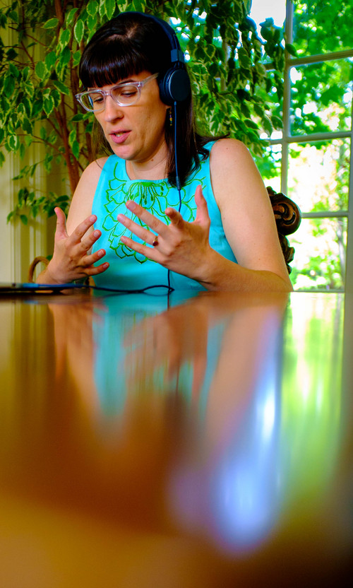 Trent Nelson  |  The Salt Lake Tribune Ordain Women founder Kate Kelly speaks about her excommunication from the LDS Church during one of several media interviews in Salt Lake City, Tuesday June 24, 2014.