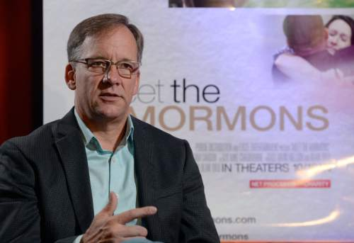 "Al Hartmann  |  The Salt Lake Tribune ""Meet the Mormons"" writer and director Blair Treu."
