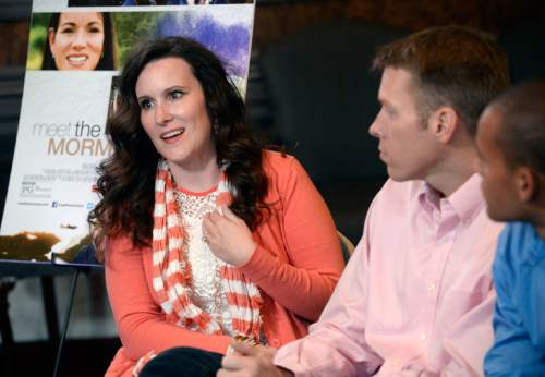 "Al Hartmann  |  The Salt Lake Tribune ""Meet the Mormons"" cast member Dawn Armstrong was a struggling single mother when she met some Mormon missionaries. She has started a new life in Utah with her husband  Craig and son Anthony, right."