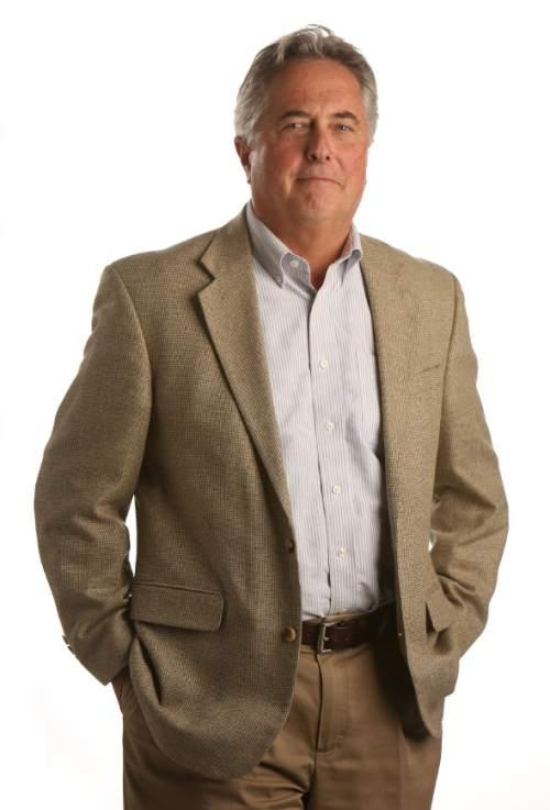 Francisco Kjolseth     The Salt Lake Tribune Salt Lake Tribune editor Terry Orme.