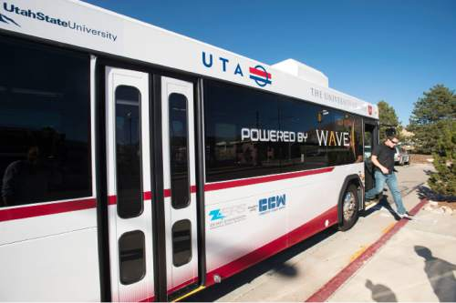 Steve Griffin  |   Tribune file photo Some residents in Provo and Orem are trying to put a measure on the ballot to block a controversial Bus Rapid Transit project.