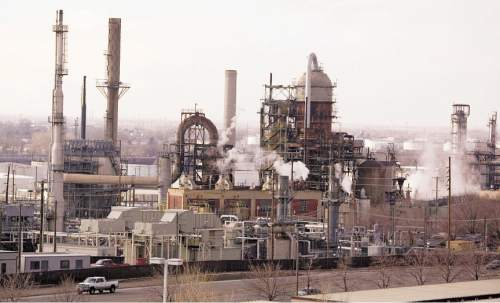 Tribune file photo Tesoro is Utahís largest refinery and, like Hollyís oil-processing plant in in Woods Cross, it is updating its facilities to process more black wax and yellow wax crude oil from the Uinta Basin.