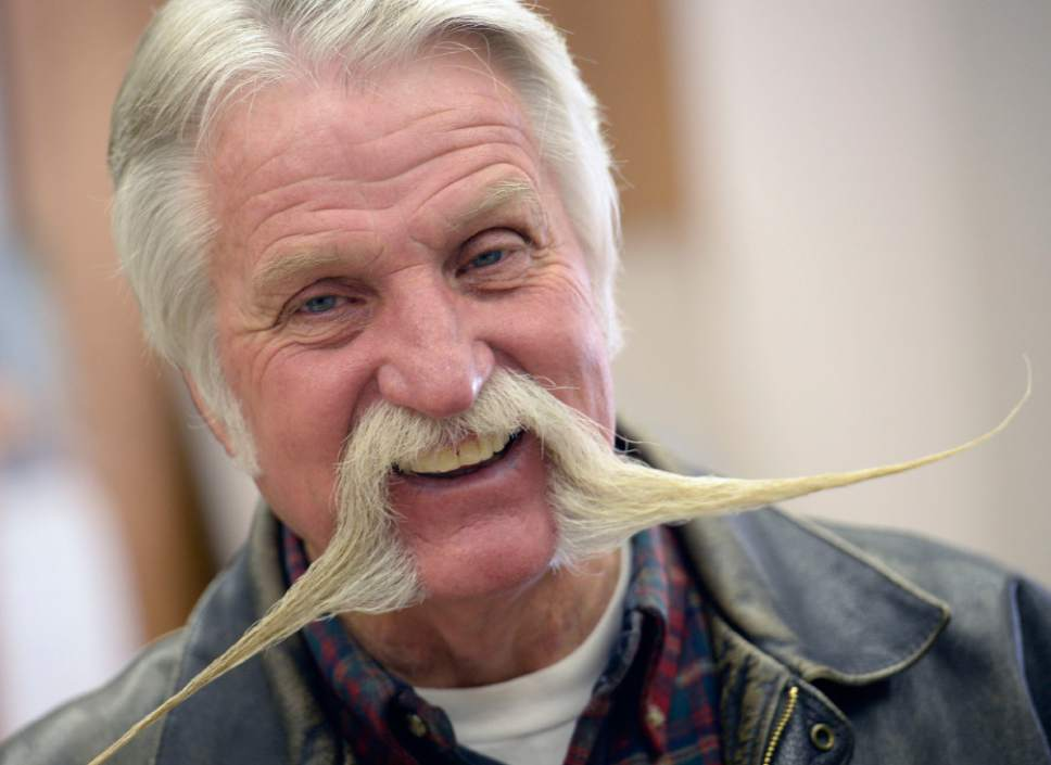 Al Hartmann     The Salt Lake Tribune After four terms (16 years) Dan Snarr with his signature handlebar mustache is leaving his post as mayor of Murray.