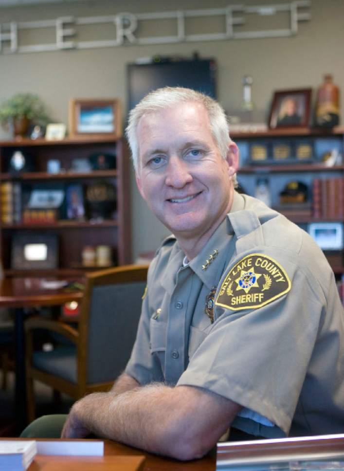 Al Hartmann     The Salt Lake Tribune Salt Lake County Sheriff Jim Winder.