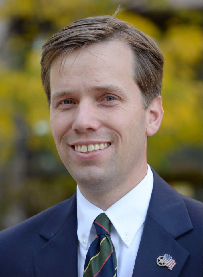 Al Hartmann     The Salt Lake Tribune Steve Nelson, Republican candidate for Salt Lake  County District Attorney.