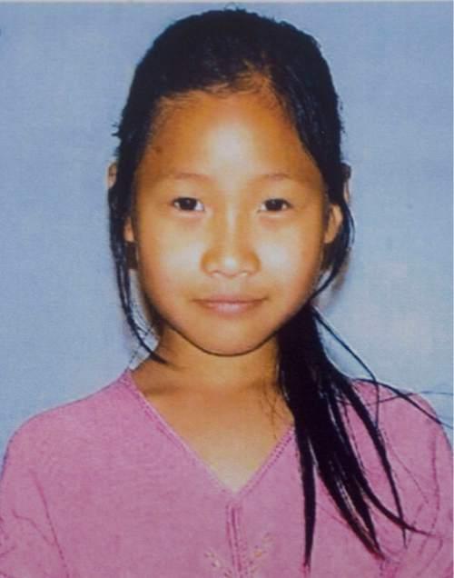Photo from search flier for missing South Salt Lake girl Hser Ner Moo, age 7.   Al Hartmann/Salt Lake Tribune    4/1/08